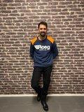 ROEG ricky jersey donkerblauw/oranje_