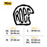 ROEG X 13 1/2 SKULL BUCKET HELMET GLOSS BLACK_