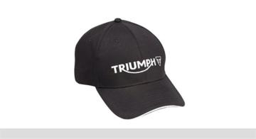 Triumph logo pet zwart