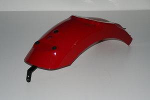 Achterspatbord rood