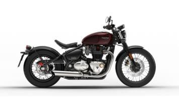 Bonneville Bobber Morello Red