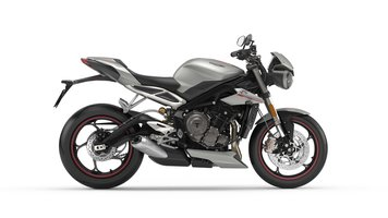 Street Triple Rs Mat Silver Ice