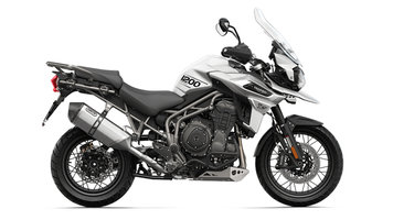 Tiger 1200 XCA Crystal White