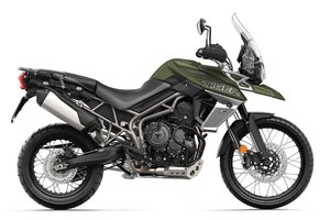 Tiger 800 XCX Matt Khaki Green