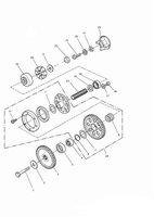 Alternator/ Starter Drive Gears