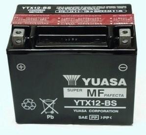 Accu Yuasa YTX-12-bs