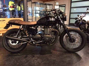 Bonneville T100 Black Special edition