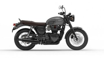 Bonneville T120 Black Mat Graphite
