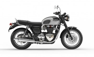 Bonneville T120 Jet Black/ Pure White