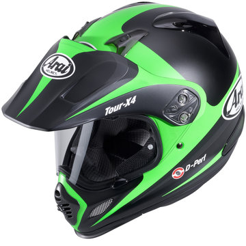 Arai Tour X4 Route Green