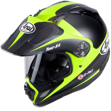 Arai Tour X4 Route Yellow