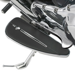 Chrome line rider footboard