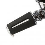 Chrome line rider footpeg kit