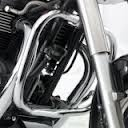 Engine dresser bars chrome