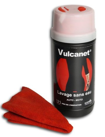 Vulcavite, wassen zonder water