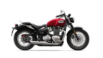 Bonneville Speedmaster Cranberry Red