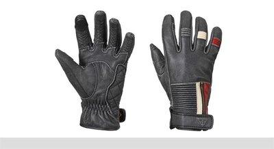 Raven glove leer