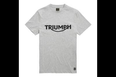 Triumph Burnham t-shirt grijs