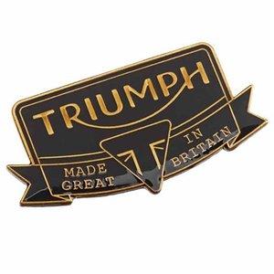 New Heritage pin badge
