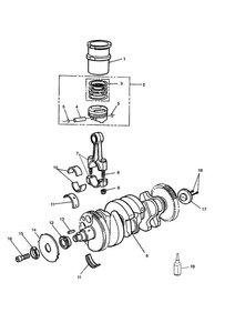 Crankshaft/Conn Rod/Pistons and Liners
