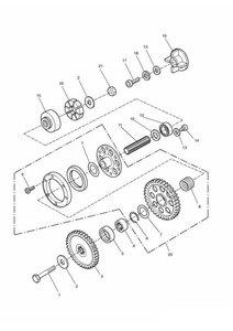 Alternator/Starter Drive Gears