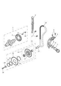 Camshaft and Camshaft Drive